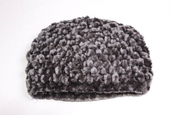 be1d19154ff Beautiful Winter Warm Pearl Grey Fluffy Knitted Women Simple Beanie (S414)