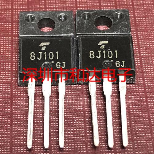 10 x 8J101 GT8J101 N CHANNEL IGBT TO-220F 600V 8A