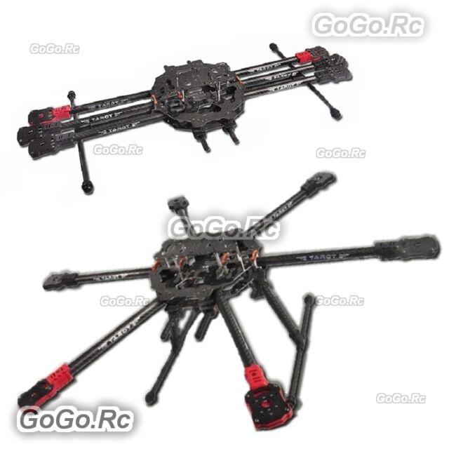 Tarot TL68C01 FY690S Full Carbon Fiber 6-axis Aircraft 3K Fold Hexacopter Drone