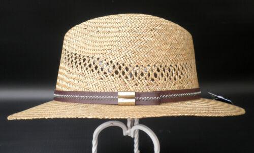 CAPPELLO in paglia in Classico Naturale Paglia appena tesa vacanza Altag uomo Cappelli Cappelli paglia