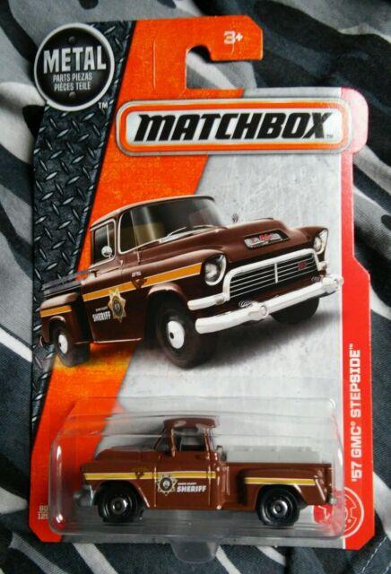 Matchbox MBX 2017 Brown 57 GMC Stepside Sheriff