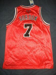 huge discount cea95 26513 Details about BEN GORDON Reebok CHICAGO BULLS AUTHENTIC Jersey 52 2XL NBA  NWT LaVine Dunn