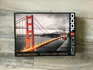 1000 Piece Jumbo Golden Gate Bridge San Francisco Jigsaw Puzzle