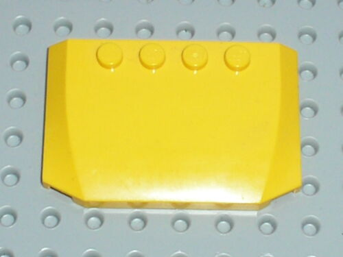 Capot LEGO yellow wedge ref 52031 Sets 7249 7685 7344 3677 7936 7891 ..