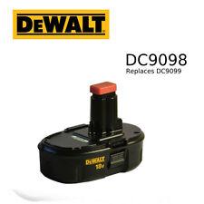 DeWALT DC9098 18V NiCd Battery, Replaces DC9099 for 18volt tools