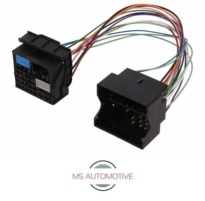52 Pin Quadlock Adapter Power Cable Vw T6 Skoda Radio Wiring Plug Connector 2015 Ebay