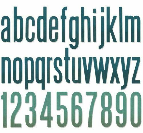 Sizzix alphanumérique Classique Bas Tim Holtz Thinlits Dies 664224 NEUF Alphabet