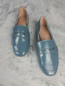 Asos turquoise Slip on Loafer Size 7 Nwt Only Tried On