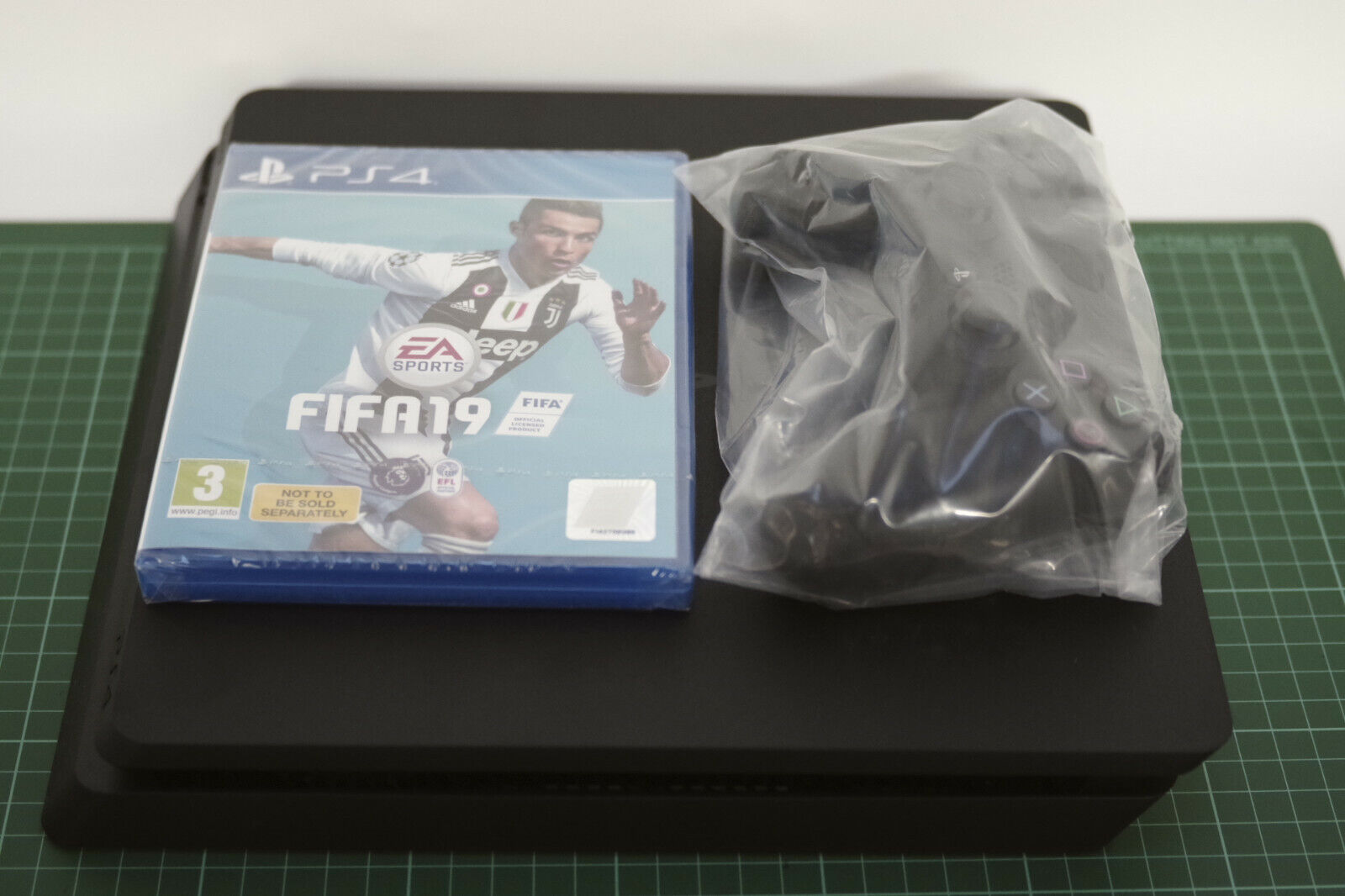 Sony PlayStation 4 1TB Console FIFA Bundle, Black, Used Once! Fast UK Delivery