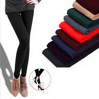 Warm Winter Brushed Fleece Lined Thermal Tight Pants Skinny Slim Leggings JT12