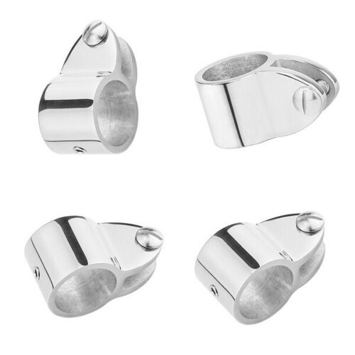 """4 Jaw Slide and 4 Eye End Stainless Steel Fittings Hardware Set 1/"""" 8 Pieces"""