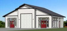 50x42 1-RV Garage 1 Br 1 Ba - PDF FloorPlan - 1,973 sqft - Model 1N