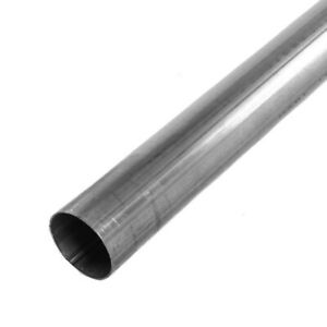 Max Racing Exhaust Aluminized Steel Straight Pipe for Car Exhaust (1 Meter/Un...