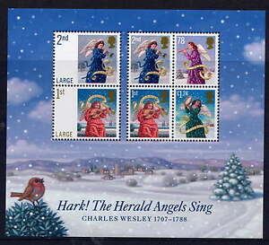 GB 2007 CHRISTMAS ANGELS MINIATURE SHEET MNH - <span itemprop='availableAtOrFrom'>Lincolnshire, United Kingdom</span> - GB 2007 CHRISTMAS ANGELS MINIATURE SHEET MNH - <span itemprop='availableAtOrFrom'>Lincolnshire, United Kingdom</span>