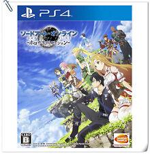 PS4 Sword Art Online SAO Hollow Realization 刀劍神域 虛空幻界 中文版 SONY ACTION GAMES