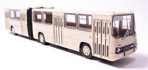 H0-BREKINA-Bus-Ikarus-280-02-Gelenkbus-Stadtbus-Uberlandbus-elfenbein-59708