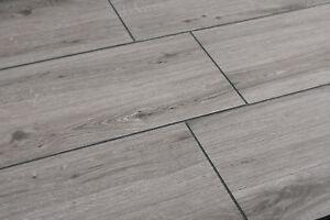 Terrassenplatte Keramik Oyster Holzoptik Bodenplatte 120x40x2 Cm 0