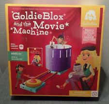 Goldie Blox The MOVIE MACHINE Engineering Book Building PLAY-SET Toy Game NEW