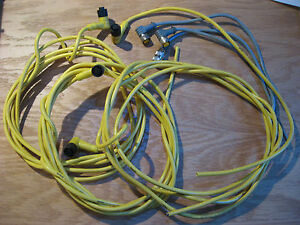 Brad-Harrison-Cable-w-Connector-4P-F-for-Industrial-Optical-Sensors-USED-Qty-7