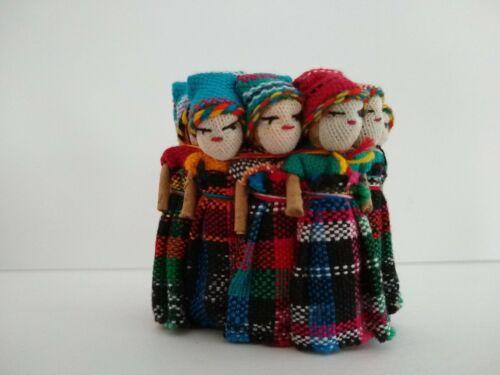 One Dozen NEW Worry Doll 2 Inch Size