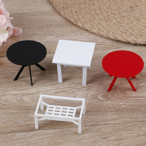 1//12 Dollhouse Miniature Furniture Table for kitchen Bedroom  HF