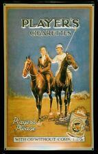 Players Cigarettes Polo Blechschild Schild Blech Metall Tin Sign 20 x 30 cm