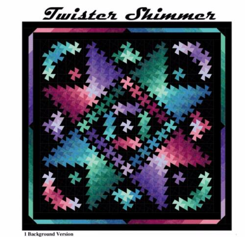 Twister Shimmer Star Graphic Design Quilt Moments Pattern