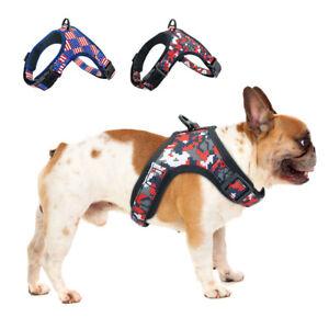 Pet Dog Harness No Pull Reflective Adjustable Adventure Dog Harness for Bulldog