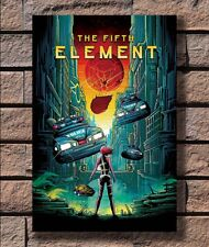 """Luc Besson Bruce Willis The Fifth Element Art Movie Poster 18x12 36x24 40x27/"""""""