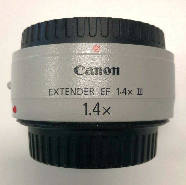 Canon EF Extender 1.4x III (Mark 3) with Lens Case MINT CONDITION - FREE POSTAGE