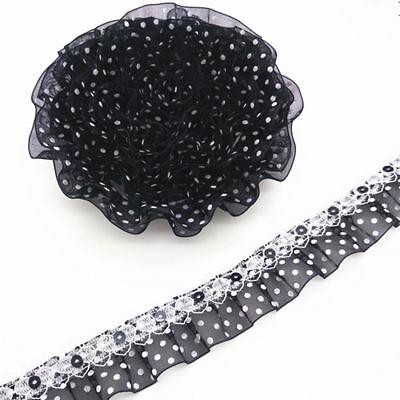 1 m Ripsband Minnie rosa  Webband Farbenmix Applikation  Schlüsselband