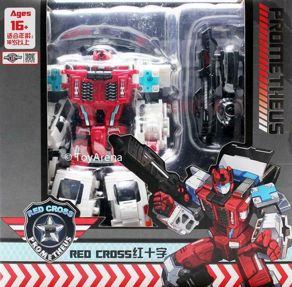 TFC Toys Prometheus TFC-04 Redcross Red Cross Action Figure Transformers