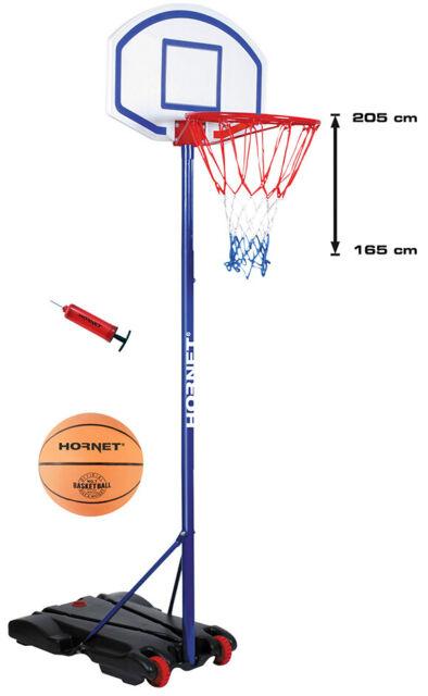 Basketballständer incl Ball /& Pumpe Hudora Hornet 305 Basketballkorb