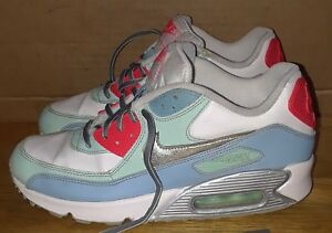 huge discount a11ad ed4e4 NIKE AIR MAX 90 LEATHER GS 724852-100 Shoes. Sz 6Y | eBay