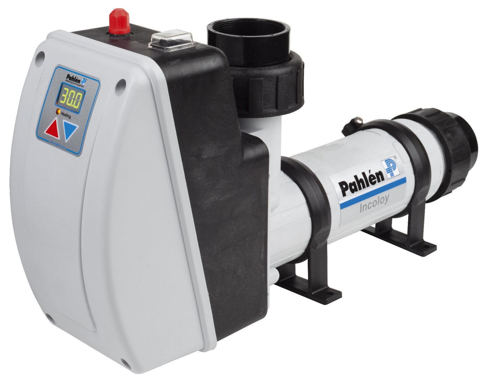Pahlen Elektroheizer Aqua HL Digital Kunststoff/Titan 6kW 40m³ Pool Heizung