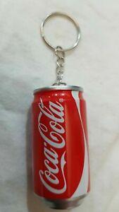 Souvenir-Key-Chain-Coca-Cola-Coke-Can-2-1-034-with-Pen-Brand-New