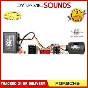 CTSPO005-2-Steering-and-Fibre-Optic-Amp-Adaptor-MOST-for-Porsche-911-997-2004-08