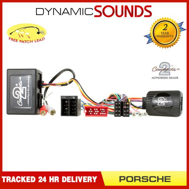 CTSPO005.2 Steering and Fibre Optic Amp Adaptor MOST for Porsche 911 997 2004-08