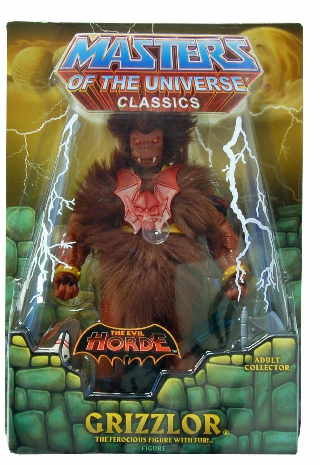 GRIZZLOR He-Man Masters Of The Universe Grizzlor HeMan Action Figure MOTU NEW