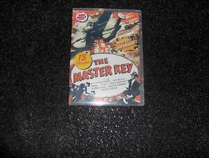 THE MASTER KEY CLIFFHANGER SERIAL 13 CHAPTERS 2 DVDS