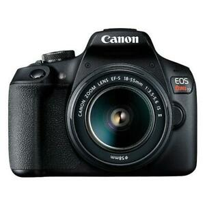 CANON EOS Rebel T7 - 24.1MP DSLR Camera - 18-55mm EF-S Lens - 1 Year OPENBOX Warranty - 0% Financing Available Calgary Alberta Preview