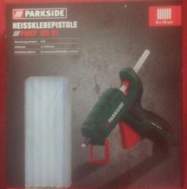 PNKP 105 B1 Heissklebepistole Parkside 7mm Durchmesser 6 Stifte+ Geschenk Gratis