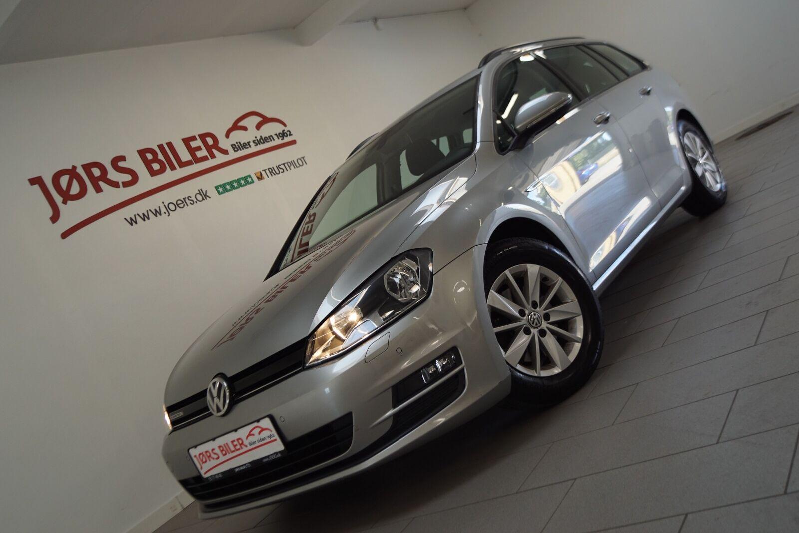 VW Golf VII 1,6 TDi 110 BlueMotion Variant 5d - 134.800 kr.