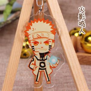 Hot Japan Anime Naruto Uzumaki Naruto Acrylic Key Ring Pendant Keychain Gift