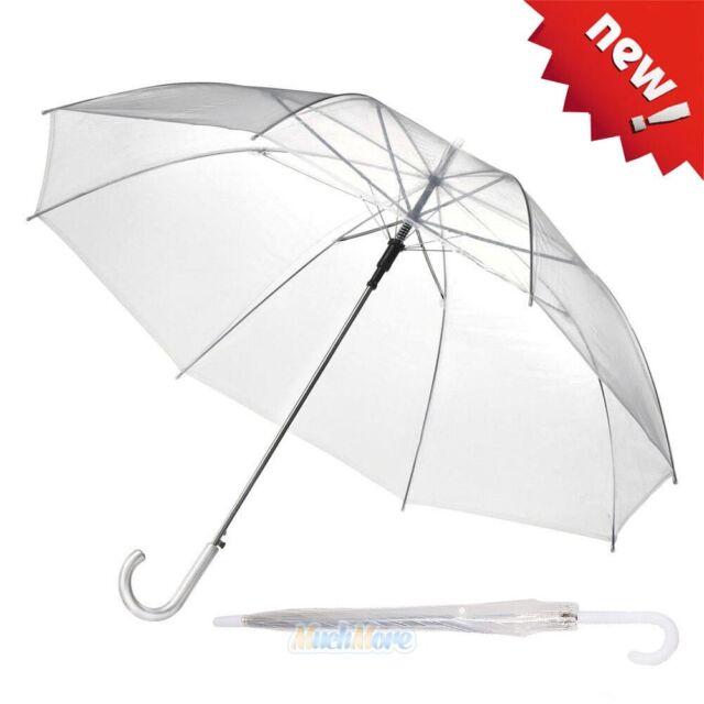 39dca1324 Fashion Transparent Clear Rain Umbrella Parasol PVC Dome for Wedding Party  Favor