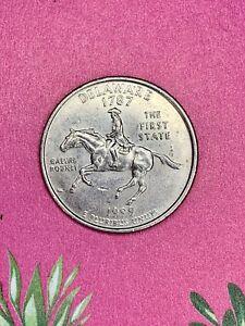 """🔥 1999 P Delaware Quarter - """" Spitting Horse"""" Error - State Quarter Error"""
