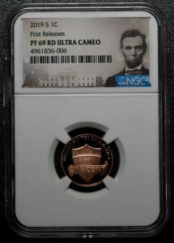 2019 S Lincoln Cent PF 69 NGC PF69 Proof Coin Ultra Cameo First Releases SKU C66