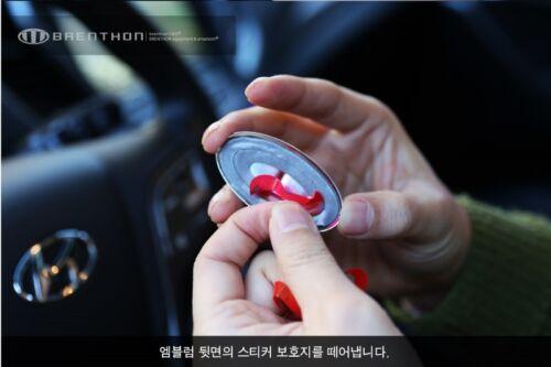 Brenthon 2G Steering Wheel Emblem Badge For Hyundai Kia All Vehicle Santa Fe