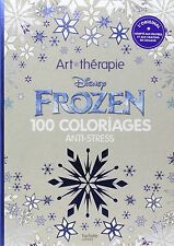 Coloriage Anti Stress Disney.Frozen 100 Coloriages Anti Stress By Disney Hardback For Sale