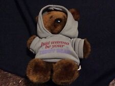 "PLUSH Vintage Dakin 1983 Pooky Teddy Bear Garfield ""I just wanna be your bear"""